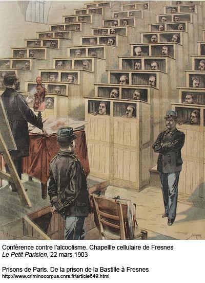 La chapelle cellulaire de Fresnes