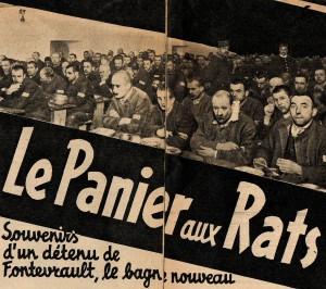 Police Magazine 1939. Reportage sur Fontevrault