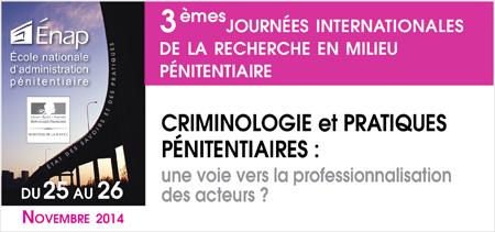 Criminologie et pratiques pénitentiaires