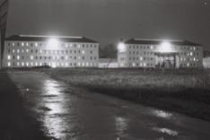 Les bâtiments A et B de la détention OAS à Saint-Martin-de-Ré. Photographie d'Armand Belvisi
