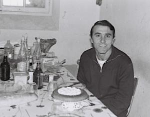 Armand Belvisi en détention. Collection Armand Belvisi