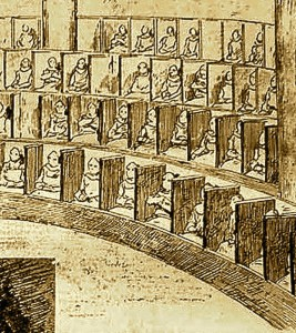 Chapelle cellulaire de la prison Saint-Gilles