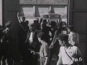 Les collaborateurs incarcérés au fort de Montluc - Ina.fr