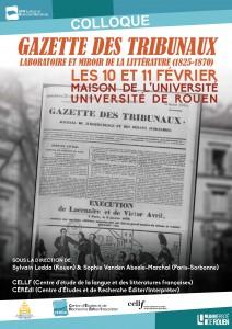 La Gazette des Tribunaux. Laboratoire et miroir de la littérature
