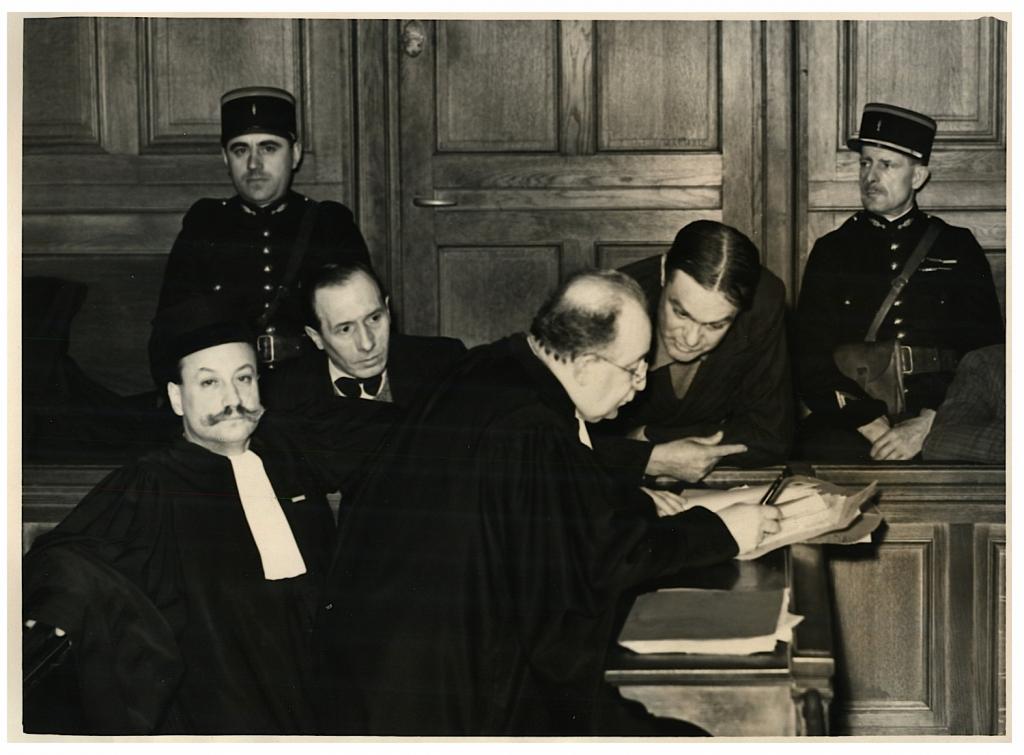 Emile Saurat devant le tribunal correctionnel (1939)