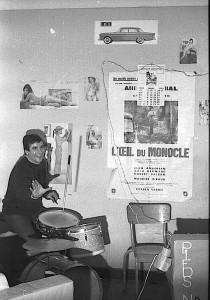 Vincent Avellanéda à la batterie