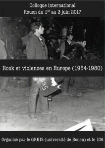 Rock et violences visuel