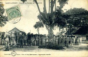 Carte postale, collection CIAP de Saint-Laurent-du-Maroni.