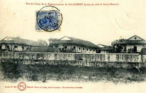 Vue du camp de la transportation, collection CIAP de Saint-Laurent-du-Maroni.