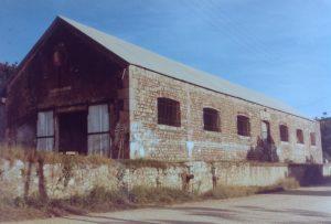 La boulangerie de Nouville en 1982 prise par Marcel Petron. Coll. ATUP.