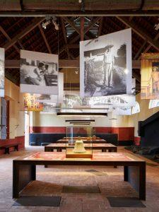 Parcours d'exposition dédié au bagne, années 2010, collection CIAP de Saint-Laurent-du-Maroni.