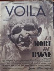 Couverture du journal Voilà du 13 janvier 1937 sur la mort du bagne. Coll. Louis-José Barbançon