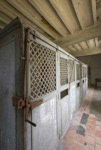 Fig. 28. Cages à poules des infirmeries Saint-Benoît. Cl. P. Giraud © Région des Pays de la Loire.