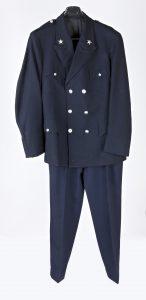 Fig. 31. Uniforme de gardien. Cl. P. Giraud © Région des Pays de la Loire.