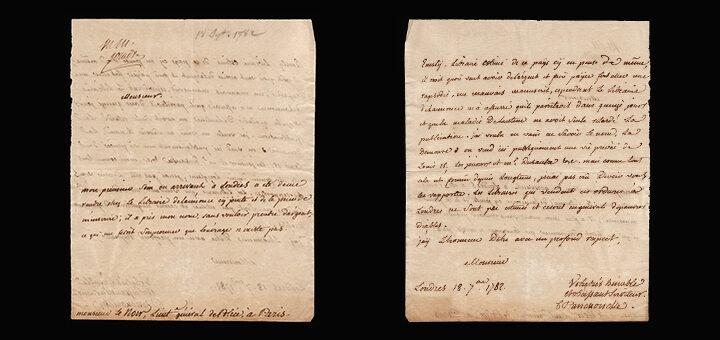 Lettre de Jean Charles Pierre Lenoir (1732-1807), lieutenant général de police à Paris, sur une fille de débauche conduite à la Salpêtrière (1776), Collection Philippe Zoummeroff/Criminocorpus