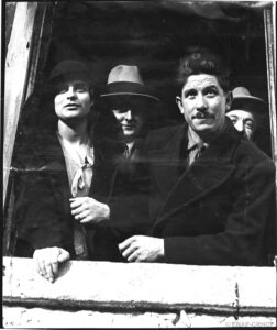 """Louis Durand, le """"mort vivant"""" et sa maîtresse Jeanne Pialat, épouse Gauthier, Fonds Petit Parisien/ENAP-CRHCP/Criminocorpus"""