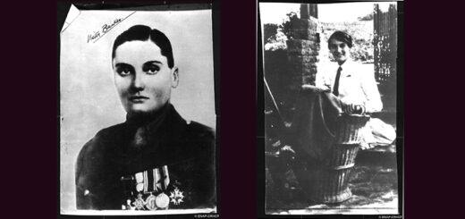 : Deux portraits de Lillias Irma Valerie Arkell-Smith alias colonel Victor Barker, Fonds Petit Parisien/ENAP-CRHCP/Criminocorpus