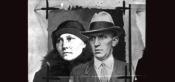 Époux Wieczorek, voleurs dits « à la détourne », repris de justice, poursuivis pour des rapts d'enfants commis en Pologne en 1925, fonds Petit Parisien Criminocorpus/ENAP-CRHCP