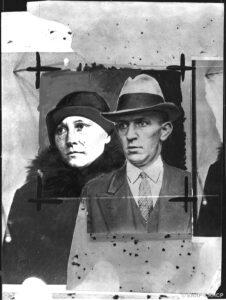 Époux Wieczorek, voleurs dit « à la détourne », repris de justice, poursuivis pour des rapt d'enfants commis en Pologne en 1925, fonds Petit Parisien Criminocorpus/ENAP-CRHCP